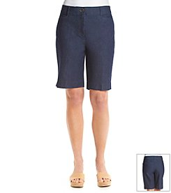 Studio Works® Denim No-Gap Shorts