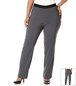 Rafaella® Plus Size Power Stretch Pull-On Pants