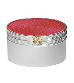 Vera Wang® Wedgwood Treasures With Love Pink Butterfly Treasure Box