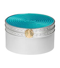 Vera Wang® Wedgwood Treasures With Love Aqua Shell Treasure Box