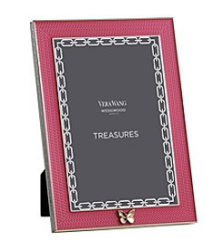 Vera Wang Wedgwood Treasures With Love Pink Butterfly 4x6