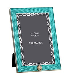Vera Wang® Wedgwood Treasures With Love Aqua Shell 4x6