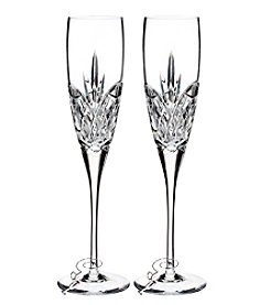 Waterford® Forever Set of 2 Champagne Flutes