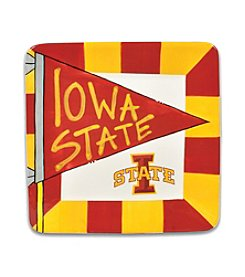 NCAA® Iowa State University Small Flag Square Plate