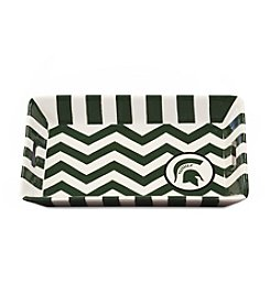 NCAA® Michigan State Spartans Chevron Mini Tray