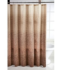 Parker Loft San Mateo Brown Shower Curtain