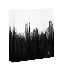 Black Paint Framed Art
