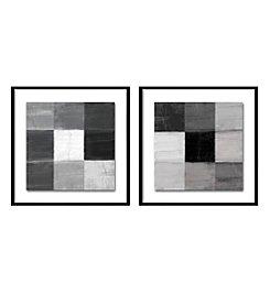 Contemporary Squares Framed Art