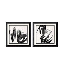 Paint It Black Framed Art