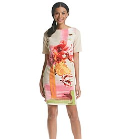 Julian Taylor Escada Floral Dress