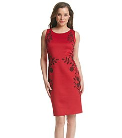 Ronni Nicole® Scuba Cavier Sheath Dress