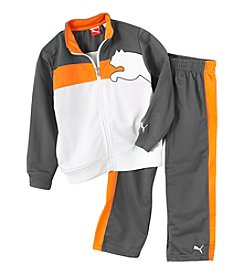 PUMA Boys' 2T-7 2-Piece Tricot Outfit Set