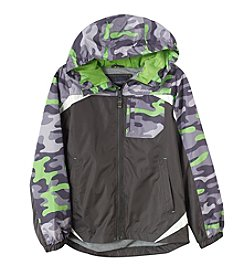 London Fog® Boys' 8-16 Colorblock Camo Jacket