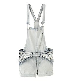 Jessica Simpson Girls' 7-16 Eggshell Shortall