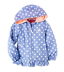 London Fog® Girls' 4-6X Polka Dot Jacket