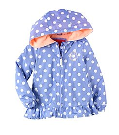 London Fog® Girls' 2T-4T Polka Dot Jacket