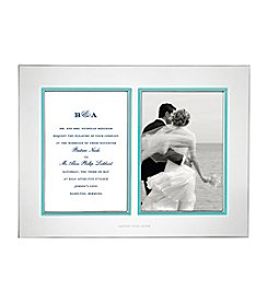kate spade new york® Take the Cake Double Invitation Frame