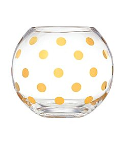 Kate Spade New York® Pearl Place Large Gold Dots Rosebowl
