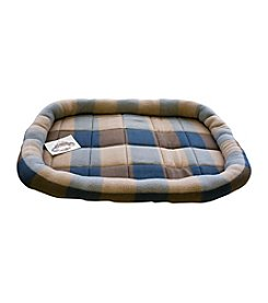 DanaZoo Plaid Fleece Rolled Edges Crate Liner