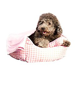 DanaZoo Checkered 3-pc. Dog Bed Set