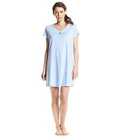 KN Karen Neuburger Blue Dot Sleepshirt