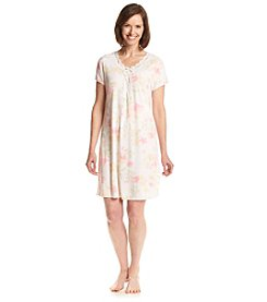 Miss Elaine® Floral Print Sleep Gown