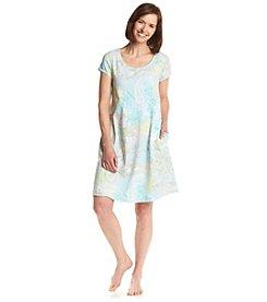 Miss Elaine® Floral Print Sleep Gown
