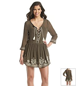Taylor & Sage™ Peasant Dress