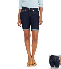 Levi's® Hemmed Bremuda Shorts
