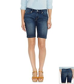 Levi's® Hemmed Bermuda Shorts