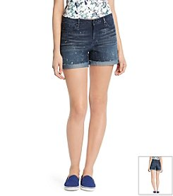 KIIND OF Frayed Relaxed Short