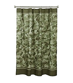 Bacova® Forest Camo Shower Curtain