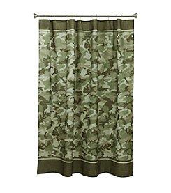 Bacova® Forest Camo Shower Curtain
