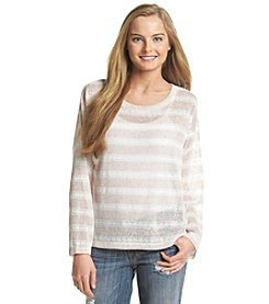 BCBGeneration™ Striped Light Sweater