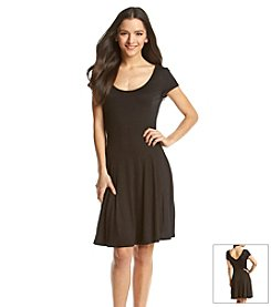 BCBGeneration™ Knit Fit And Flare Dress