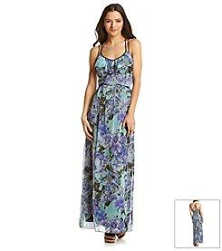 Jessica Simpson Garden Floral Maxi Dress