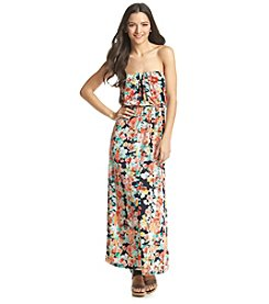 Trixxi® Floral Tube Maxi Dress