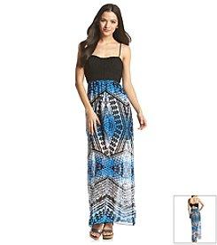 Trixxi® Crochet Top Maxi Dress