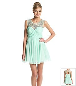 Bee Darlin' Illusion Sweetheart Dress