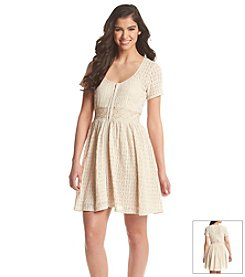 Taylor & Sage™ Lace Fit And Flare Dress