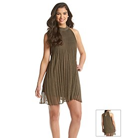 Taylor & Sage™ Pleated Halter Dress