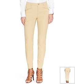 Lauren Ralph Lauren® Stretch-Cotton Skinny Pants