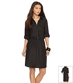 Lauren Ralph Lauren® Belted Cargo Shirtdress