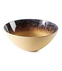 Ruff Hewn Striped Large Bowl