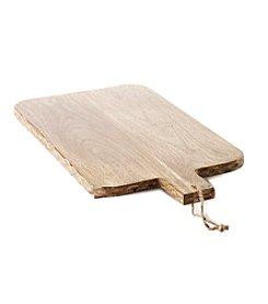 Ruff Hewn Mango Wood Cheese Platter