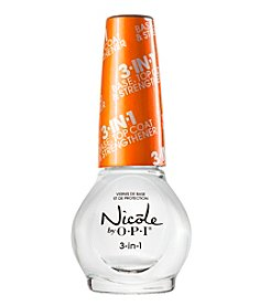 Nicole by OPI® 3-In-1 Base, Top Coat & Nail Strengthener