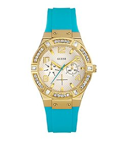 GUESS Goldtone Jet Set Sparkle Watch