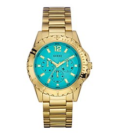 GUESS Goldtone Vivid Hi-Energy Watch