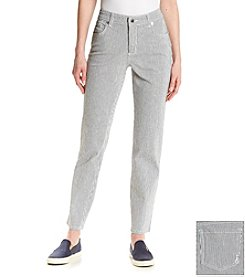 Jones New York Sport® Stripe Skinny Pants