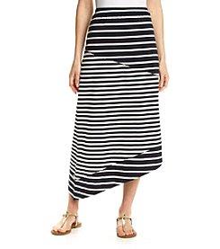 Jones New York Sport® Asymmetrical Stripe Skirt